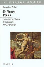 Ut pictura poesis - Intérieur - Format classique