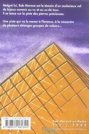 Bob Morane t.2039 ; l'affaire du Louvre - 4ème de couverture - Format classique