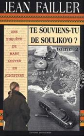 Mary Lester T.30 ; Te Souviens-Tu De Souliko'O ? T.2 - Couverture - Format classique