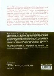 Tinguely, l'énergétique de l'insolence - 4ème de couverture - Format classique