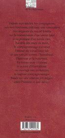 Les Paroles De Compagnons - 4ème de couverture - Format classique