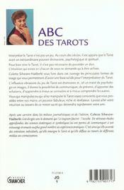 Abc des tarots - 4ème de couverture - Format classique