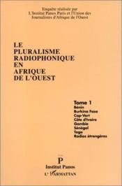 Pluralisme Radiophonique(T1en Afrique De L'Ouest - Couverture - Format classique