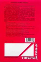 Etre Enseignant, Un Metier Impossible ? Hommage A Ada Abraham - 4ème de couverture - Format classique