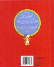 Piquedon Le Herisson - La Fete Des Tout-Doux - 4ème de couverture - Format classique