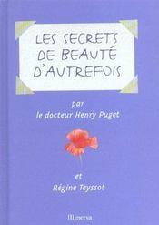 Secrets De Beaute D'Autrefois (Les) - Intérieur - Format classique