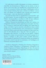 Dossier Diderot - 4ème de couverture - Format classique