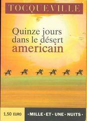 Quinze Jours Dans Le Desert Americain - Intérieur - Format classique