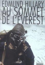 Au sommet de l'Everest - Intérieur - Format classique