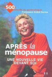 Apres La Menopause : Une Nouvelle Vie Devant Soi - Intérieur - Format classique