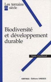 Biodiversité et développement durable - Couverture - Format classique