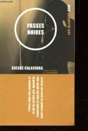 Passes noires - Couverture - Format classique