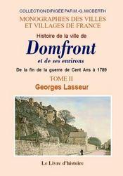 Domfront (histoire de la ville de) et ses environs - Intérieur - Format classique