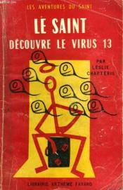 Le Saint Decouvre Le Virus 13. Les Aventures Du Saint N°36. - Couverture - Format classique