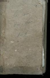 La Tour Du Bog Ou La Severite Paternelle - Tome 1 - Couverture - Format classique