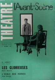 L'AVANT-SCENE - THEATRE N° 273 bis - LES GLORIEUSES de ANDRE ROUSSIN - Couverture - Format classique