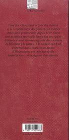 Paroles de cisterciens - 4ème de couverture - Format classique