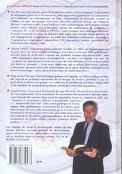 Un Temoignage Pour Le Futur ; Cheval Freres, Des Industriels Engages - 4ème de couverture - Format classique