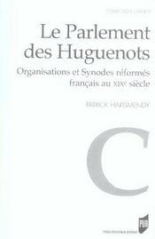 Parlement Des Huguenots - Intérieur - Format classique