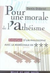 Pour une morale de l'athéisme - Intérieur - Format classique