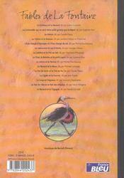 Fables de La Fontaine - 4ème de couverture - Format classique