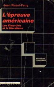 L'Epreuve Americaine - Couverture - Format classique