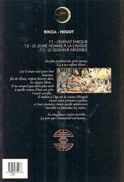 Le khan t.3 ; le seigneur inflexible - 4ème de couverture - Format classique