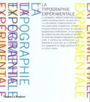 La typographie expérimentale - Couverture - Format classique