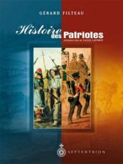 Histoire des patriotes - Couverture - Format classique