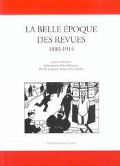 La Belle Epoque Des Revues 1880-1914 - Intérieur - Format classique