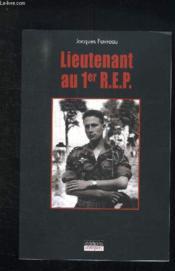 Lieutenant Au 1er R.E.P. - Couverture - Format classique