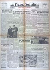 France Socialiste (La) N°767 du 05/05/1944 - Couverture - Format classique