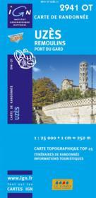 Uzès, Remoulins, pont du Gard ; 2941 OT - Couverture - Format classique