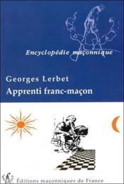 Apprenti franc-macon - Couverture - Format classique