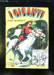 Igiganti N° 3.L Uomo Mascherato. Texte En Italien. - Couverture - Format classique