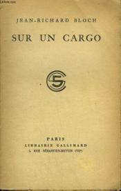 Sur Un Cargo. - Couverture - Format classique