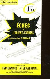 Echec A L'Orient-Express - From Russia With Love - Couverture - Format classique