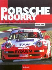 Porsche Nourry, 35 Ans Au Coeur De La Course - Intérieur - Format classique
