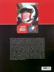 Porsche Nourry, 35 Ans Au Coeur De La Course - 4ème de couverture - Format classique