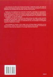 Sciences Occultes (Les) Anthologie - 4ème de couverture - Format classique