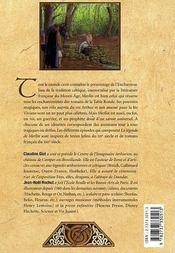 La Legende De Merlin - 4ème de couverture - Format classique
