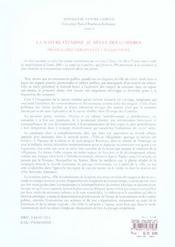 Nature Citadine Au Siecle Des Lumieres (La) - 4ème de couverture - Format classique