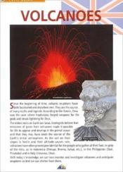 Volcanoes - Couverture - Format classique