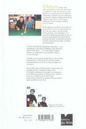 Adamo C Est Sa Vie - 4ème de couverture - Format classique