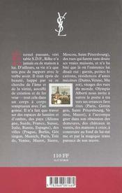 Rilke Sans Domicile Fixe - 4ème de couverture - Format classique