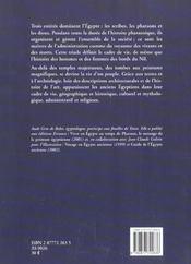 Les Anciens Egyptiens ; Scribes, Pharaons Et Dieux - 4ème de couverture - Format classique