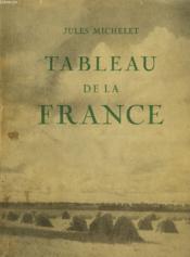 Tableau De France - Couverture - Format classique