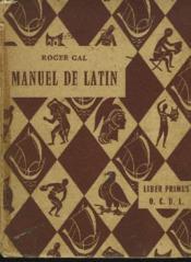Manuel De Latin - Couverture - Format classique