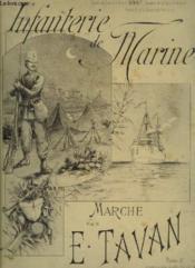 Infanterie De Marine - Marche Des Marsouins Pour Piano. - Couverture - Format classique