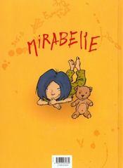 Mirabelle t.1 ; mi-ange mi-démon - 4ème de couverture - Format classique